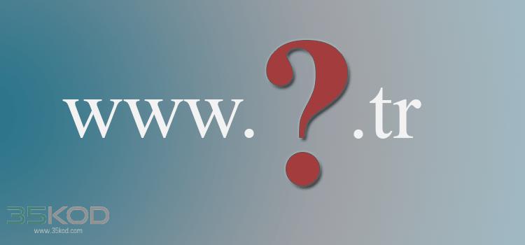 COM.TR Alan Adı Nasıl Alınır?